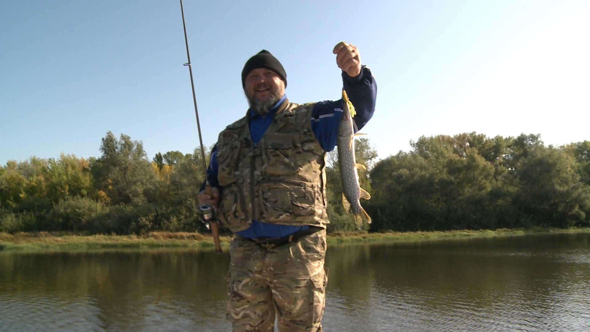 рыбалка с михалычем хищник